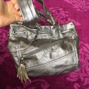 Leather B. Makowski tote purse